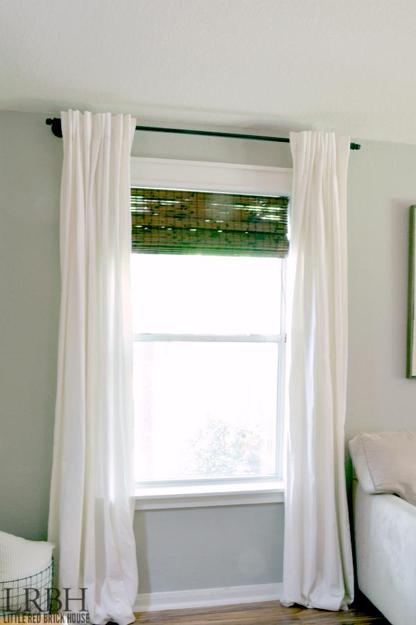 Galvanized Pipe Curtain Rod Feature 2 WM