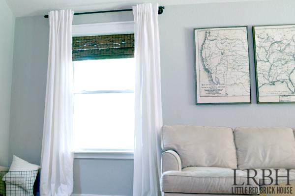 Galvanized Pipe Curtain Rod feature 1 WM