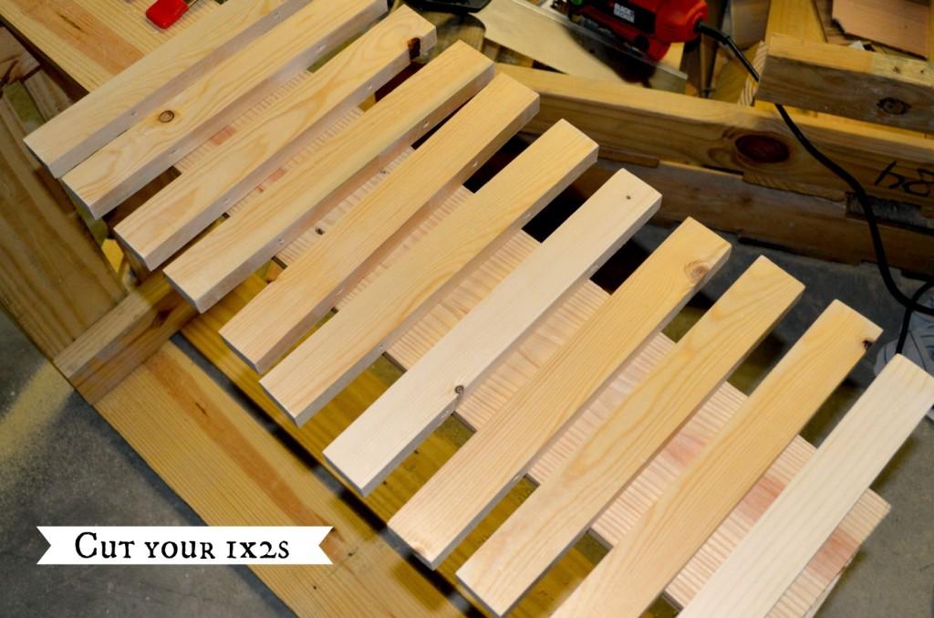 cut 1x2 slats