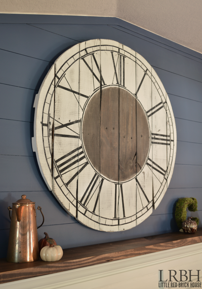 Roman Numeral Pallet Clock | LITTLE RED BRICK HOUSE