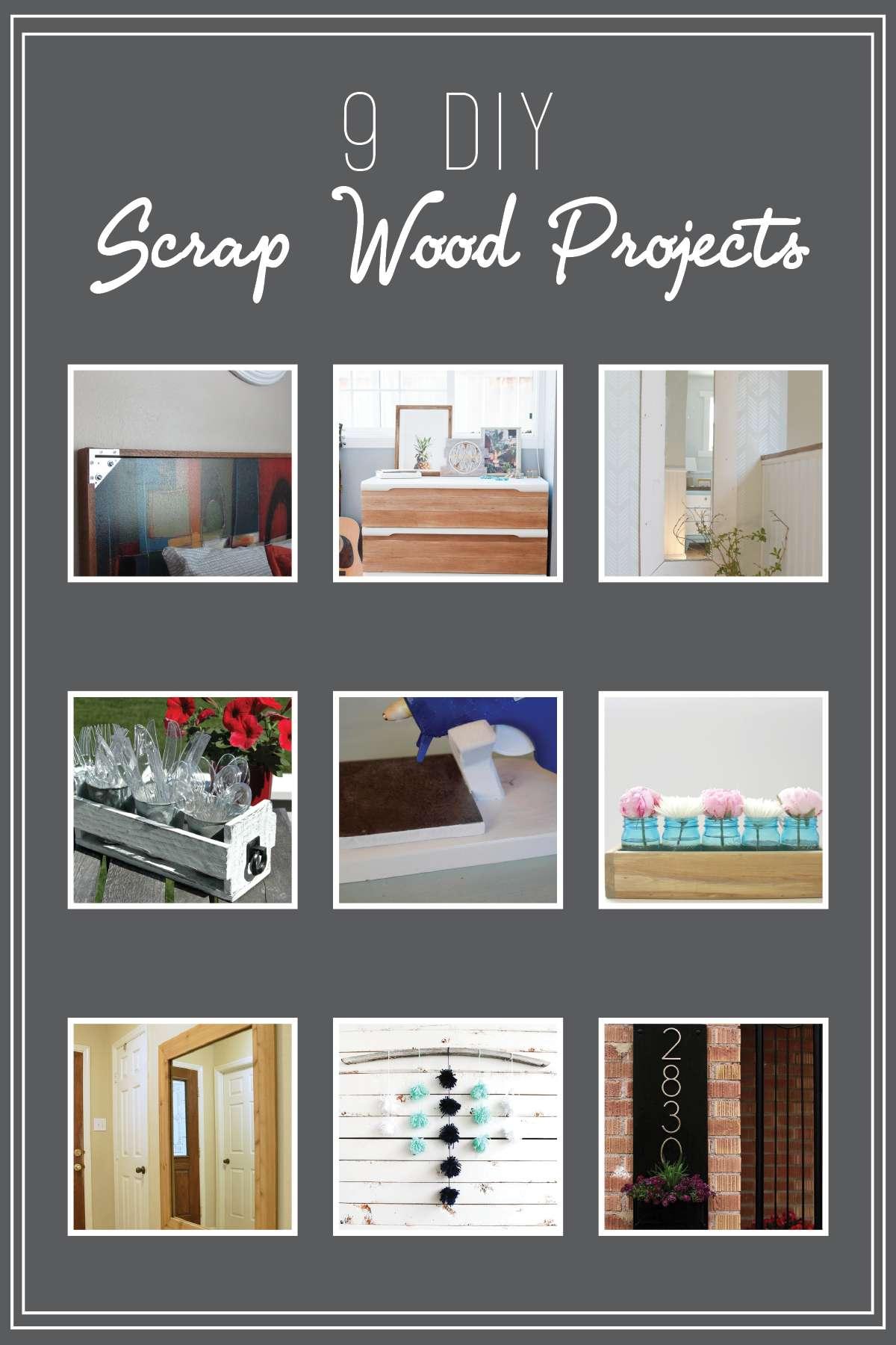 Monthly DIY Challenge- Scrap Wood